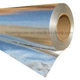 Feuille d'aluminium perforé Radiant barrière Face tissu tissé isolement