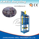 Roupa e prensa hidráulicas da prensa de empacotamento de matérias têxteis