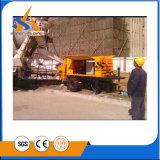 Pompe de triage à béton diesel mobile