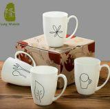 Copas de 12 oz de café de porcelana para Publicidad