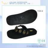 Les bascules électroniques d'hommes avec le haut de tissu, poussoir d'hommes d'EVA chausse des chaussures
