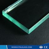 2mm-19mm verre flotté clair avec bord poli