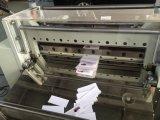 Etiqueta automática de corte de la máquina