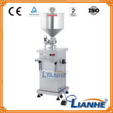 Halb automatische Füllmaschine-Flüssigkeit/Sahneeinfüllstutzen