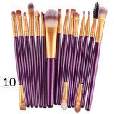 Generi della spazzola 15 di trucco di stili degli strumenti delle estetiche