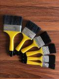 Cepillo de pintura negro de la cerda con la maneta plástica