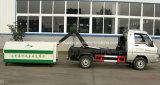 Camion d'ordures de roulis de bras de Foton du m3 3 mini 3 tonnes de crochet de bras de camion d'ordures