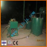 Strumentazione residua di distillazione dell'olio di pirolisi con distillazione catalitica per ottenere gasolio da olio residuo