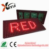 P10 Pantalla LED de un solo color para pantalla de texto en rojo
