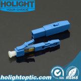 Conector rápido de fibra óptica LC