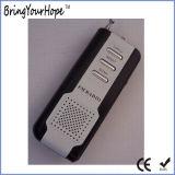 플래쉬 등 (XH-FM-003)를 가진 소형 FM 라디오