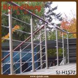 Inferriata del cavo dell'acciaio inossidabile con Hardrail per la scala (SJ-S329)