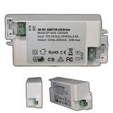 24V 1A de corriente constante de 24W para el Controlador de LED luces LED