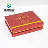 Цветастое печатание и самая горячая картонная коробка упаковки еды конструкций