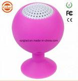 Mini haut-parleur imperméable à l'eau portatif sans fil de mobile de Bluetooth d'aspiration de forme de cuvette