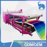 Máquina de prensa de transferencia de calor de Poller de la fuente de la fábrica para el material textil de la tela