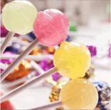 Lollipop e doces que fazem a máquina