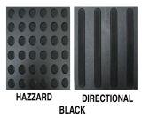 Warnende im Freien Belüftung-Tastblinde Fußboden-Ziegelstein-Gleitschutzplastikfliese 300*300