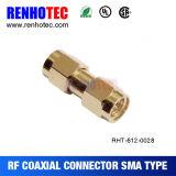 T tapent le mâle de SMA à deux connecteurs femelles de l'adaptateur SMA