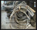 Flämischer 6*25 Ungalvanized Augen-Drahtseil-Riemen mit Hochleistungsmuffe