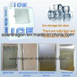 Im Freien geneigtes Eis-Gefriermaschine-Sortierfach