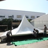 Gazebo de tenda de dossel em pote de PVC de 4X4m