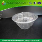 De beschikbare Plastic Kom van de Salade van het Huisdier Transparante