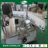 Автоматический двойник встает на сторону машинное оборудование слипчивого стикера стеклянных бутылок обозначая