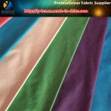 320t Full Dull tela de pongee de poliéster con calendario de aceite y impermeable para la chaqueta