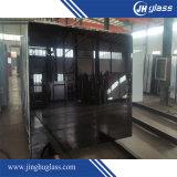 Vidro pintado preto de 12mm para construção