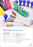 Cable de Primedic Xd30 ECG con 3 alambres de terminal de componente