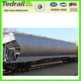 Vagão Railway do funil do reator para a exportação