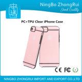 贅沢な電話箱iPhone7のための熱い販売の耐震性TPUのパソコンサポートケース