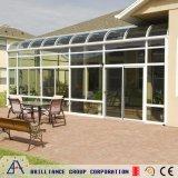 Het Glas van de Tuin van Custome huisvest het Glas Sunroom van het Profiel van het Aluminium