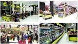 Rek van de Supermarkt van de Gondel van de Winkel van de Opslag van de kruidenierswinkel het Kleinhandels