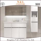 N&L de roble de MDF moderno gabinete de vanidades de baño