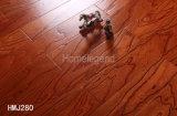 el color rojo de 12m m multiplica el suelo de madera dirigido olmo grabado