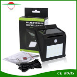 庭のヤードのための特別に長い延長コードとの分割されたタイプ屋内太陽ランプの屋外の使用の動きセンサーの壁ライト10 LED機密保護の照明