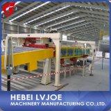 Paneles de Yeso producir la línea de montaje con la instalación