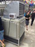 Refrigerador de ar móvel evaporativo de água para andar de chão industrial