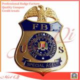 La police en métal Badge avec conçoit en fonction du client