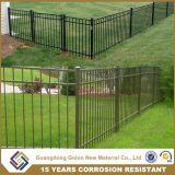 裏庭のための住宅の円形の管状の鉄の金属の塀のパネルか庭または家