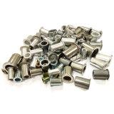영국과 미국 시스템 편평한 맨 위 리베트 견과 탄소 강철 알루미늄 또는 스테인리스
