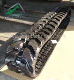 A máquina escavadora segue as trilhas de borracha (400*72.5KW)