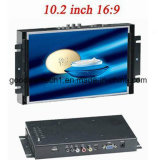 "10.2 "" monitores industriales del marco del LCD Opne del 16:9 del tacto"
