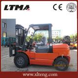 caminhão de Forklift do LPG da gasolina 4ton com certificação do Ce