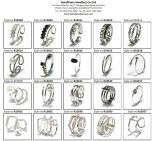 2017 Anillo de plata esterlina de la joyería 925 más nuevo (R10636)