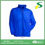 ВодостойкfNs голубая куртка Windbreaker пальто человека