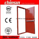 Дверь выхода пожара низкой цены 2.0h (120MINS) с сертификатом BS и UL
