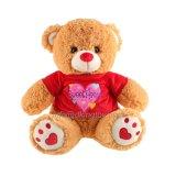 Doce Coração Dia dos Namorados Atacado Teddy Bear Plush Toy Gift